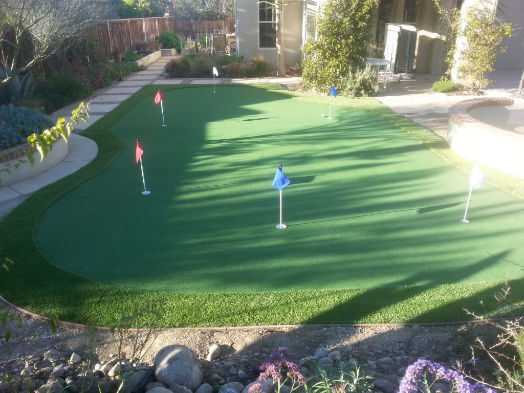 Synthetic Turf Putting Greens For Backyards Solana Beach, Best Artificial Lawn Golf Green Prices