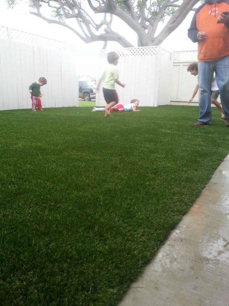 Synthetic Lawn Playground Installation Solana Beach, Best Artificial Turf Backyard Playgrounds