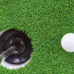 Artificial Turf Golf Greens Installation in Solana Beach, Putting Greens Turf Company