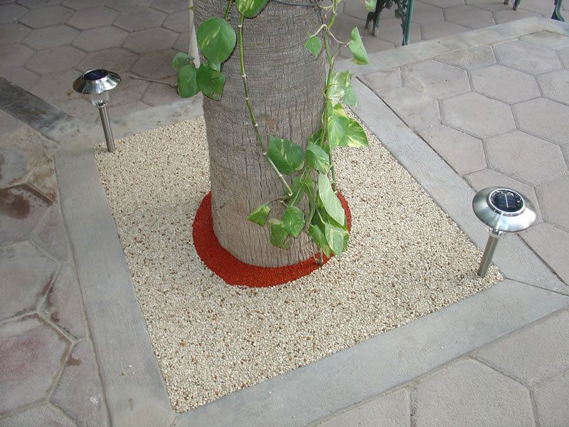Rubber Tree Well Installation in Solana Beach, Porous Tree Well